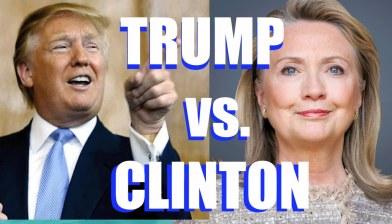 trump hillary vs